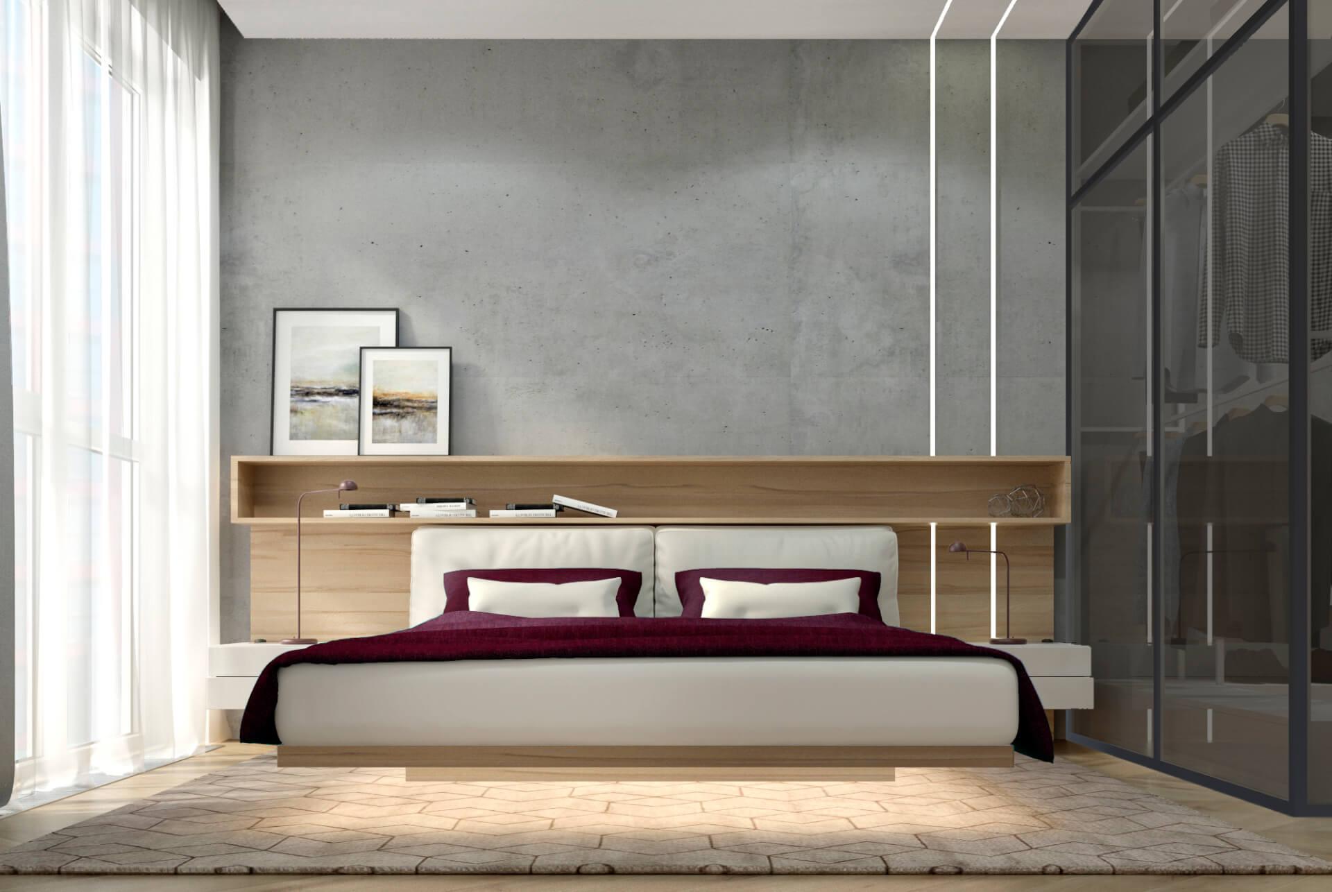 Спальня вариант 2 вид 1